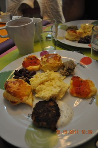 Assiette brunch