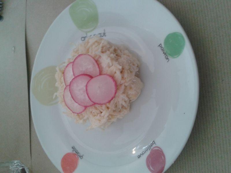 Rémoulade au crabe